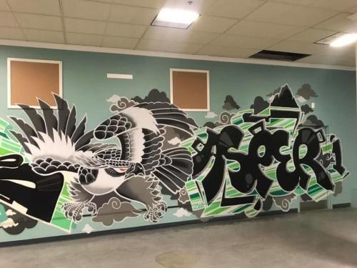 AJA Louden - Murals and Street Murals