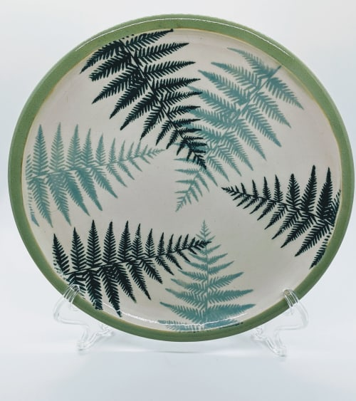 Tableware by Megelise Handmade Pottery seen at Private Residence, Tacoma - PNW Collection Dish Set