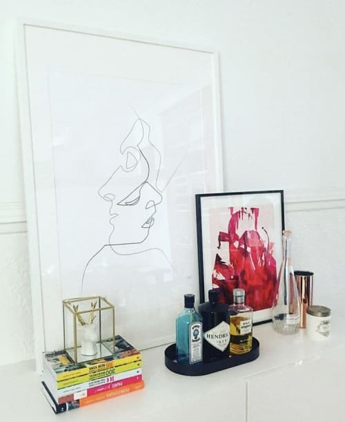 Art Curation by Alyssa Hamilton Art seen at Private Residence, Montreal - Slow Burn