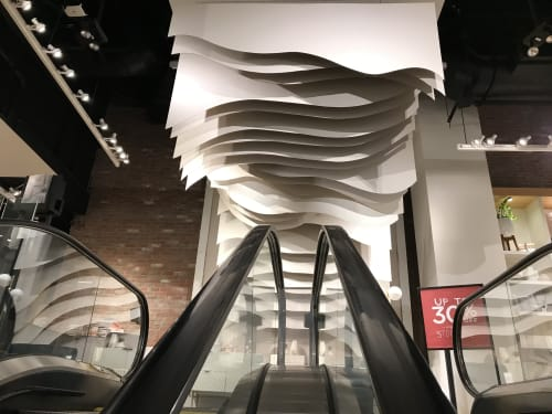 Art Curation by foryouilldotheweirdestshit seen at Los Angeles, Los Angeles - Architectural Wave - January 2018