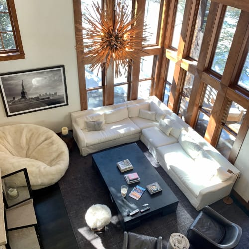 Chairs by Gorsuch seen at Private Residence, Aspen, Aspen - Stools
