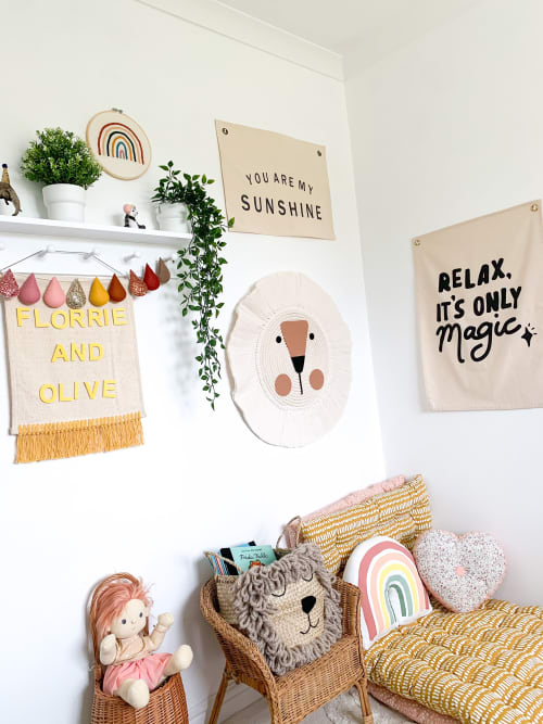 Florrie and Olive - Wall Hangings and Art