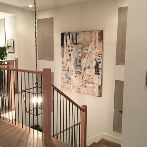 Paintings by Amadea Bailey at Private Residence, Manhattan Beach, Manhattan Beach - I Am That