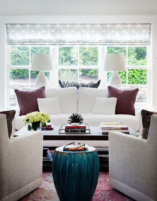 "Interior Design by Alexis Parent Interiors seen at Private Residence, Westport - ""Westport: Riverside"" Project"