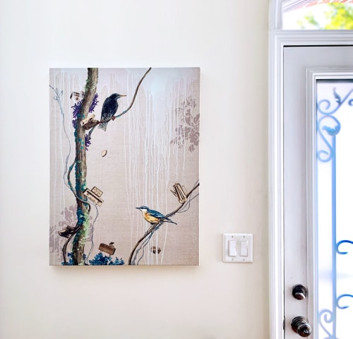 Paintings by Lauren Matsumoto seen at Private Residence - Hindsight and Foresight