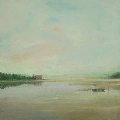 "Art & Wall Decor by YJ Contemporary seen at East Greenwich, East Greenwich - Anne Packard ""Summer Camp"""