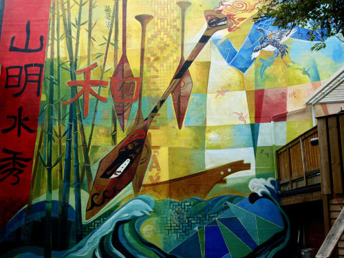 Richard Tetrault-artist - Street Murals and Murals