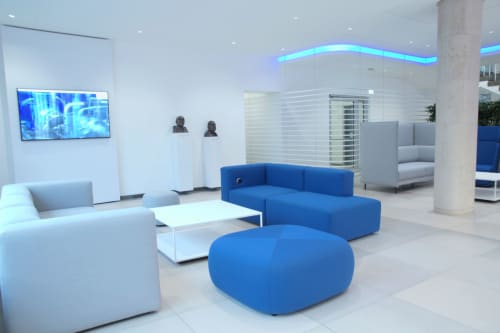 Couches & Sofas by Icons of Denmark seen at KSB Service GmbH, Frankenthal - Firkant