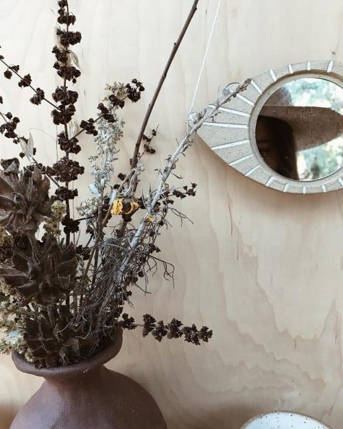 Wall Hangings by Mariana Mae seen at Eliza Sloane's Home - Mirror Eye