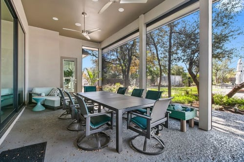 Architecture by Kipp Flores Architects seen at Private Residence, Austin - Plan 3376 Custom Project