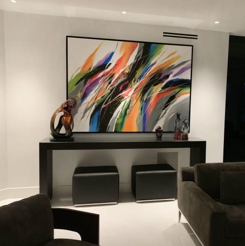 Paintings by Bellemare Art seen at Private Residence, Naples - Velicidad