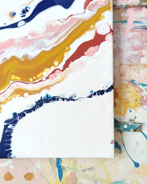 Happiness is my Success -painting | Paintings by Lotta Sirén