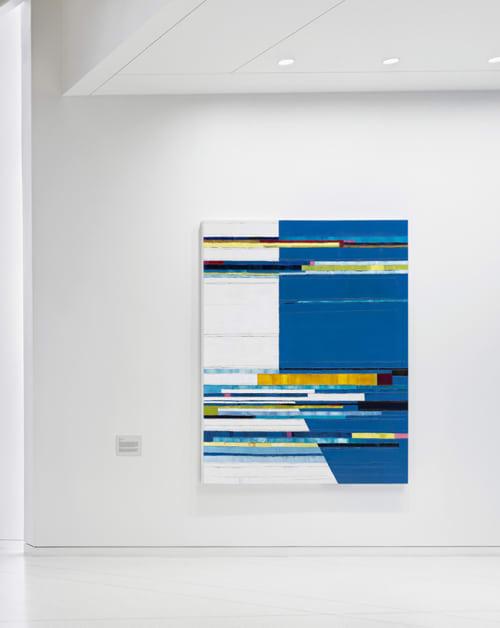 Paintings by Maya Kabat seen at Kaiser Center, Oakland - Attempt to Cross, Oakland