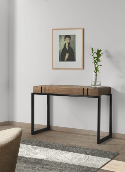 Tables by Amboan seen at Private Residence, Los Angeles - Mithos Dressing Table