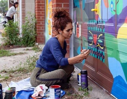 Yasaman Mehrsa - Street Murals and Public Art