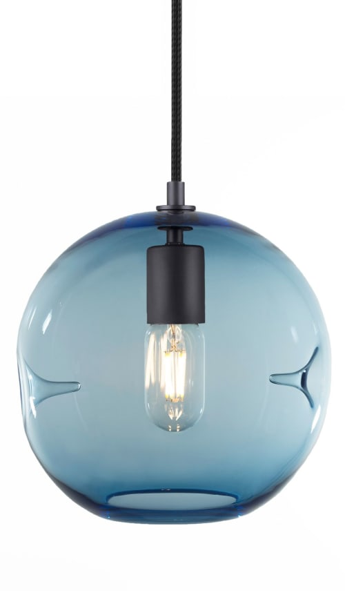 Pendants by KEEP seen at Private Residence, Denver - POKE Pendant Light