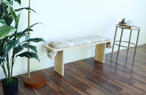 Benches & Ottomans by THE IRON ROOTS DESIGNS - Blanket Bench