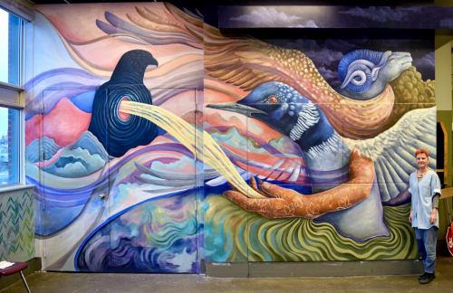 Katie Green - Street Murals and Murals