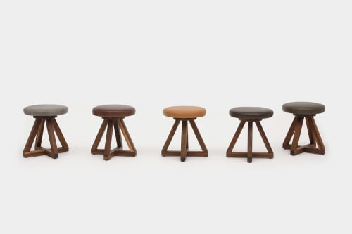 Chairs by ARTLESS seen at Private Residence, Los Angeles - X1 Stool