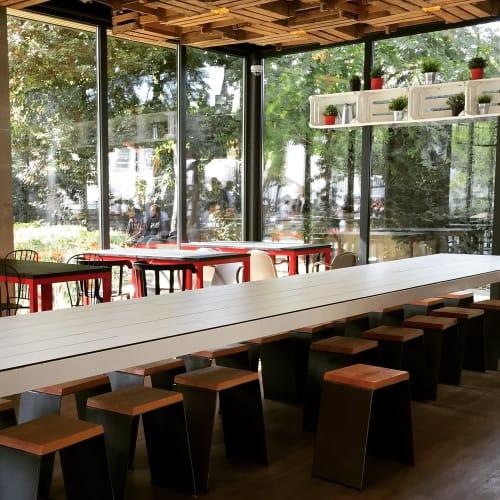 Furniture by Rui Tomás seen at Com Sabor, Lisboa - Have a Seat