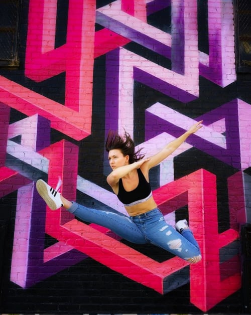 Street Murals by Chris Soria - Eternal Return