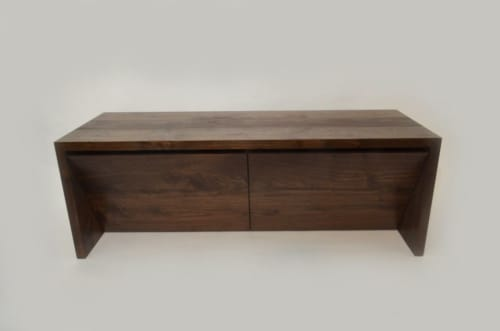 Benches & Ottomans by In Element Designs seen at Private Residence, Vancouver - KATANA shoe cabinet