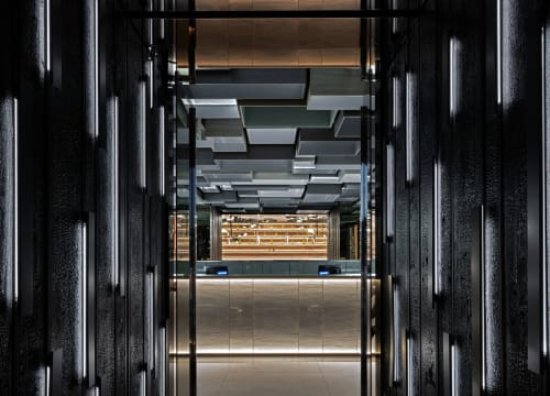 Interior Design by Maurizio Lai seen at Sushi Club Corbetta, Corbetta - Sushi Club