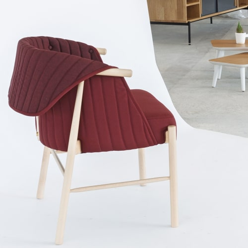 Chairs by ABANA BILBAO seen at Bilbao, Bilbao - Reves Armchair