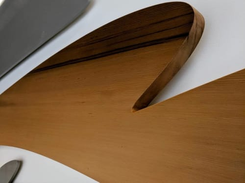 Interior Design by Luke Ramsey Studio seen at 750 Pandora Ave, Victoria - 750 Pandora, Metal, Wood and Stone