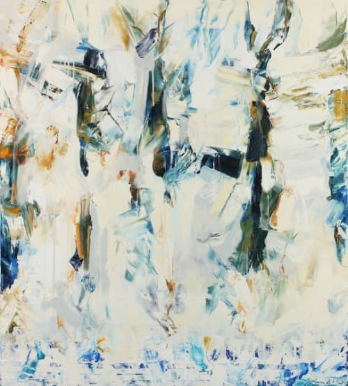 Paintings by John DiPaolo seen at Private Residence, San Francisco - Untitled #17