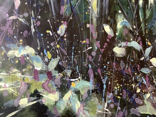 Paintings by Adele Riley Artist seen at Private Residence - A place of solace.