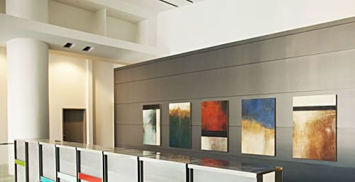 Interior Design by Rebecca Crowell seen at Houston, Houston - MD Anderson Cancer Center, Zayed Center for Personalized Cancer Care, Houston, TX