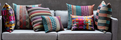 Interior Design and Pillows by Margo Selby