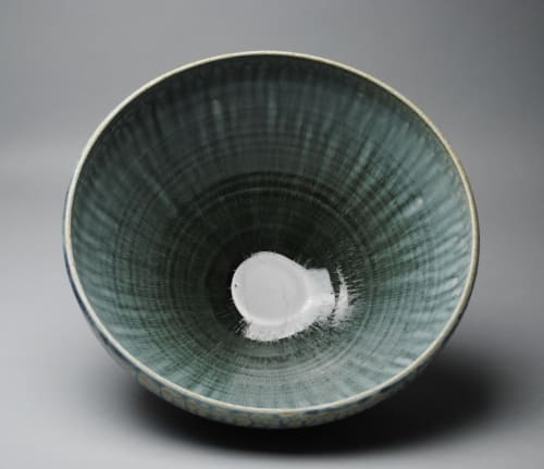 Tableware by John McCoy Pottery seen at Private Residence, Seattle - Large Stoneware Bowl