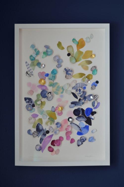 Art & Wall Decor by Elisa Sheehan seen at Creator's Studio, Stillwater - Kintsugi Eggshells Flourish 9