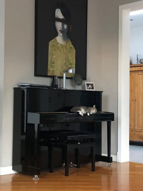 Art Curation by Anne Plaisance seen at Private Residence, Warsaw - Private collector house