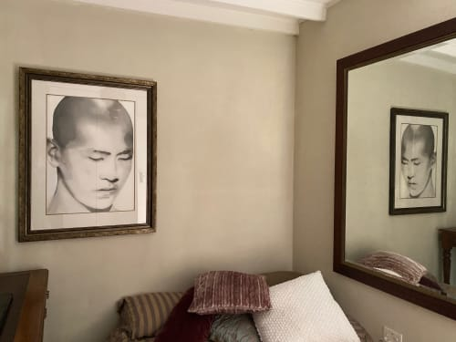 Paintings by Tracy Payne seen at Private Residence, Cape Town - 'Adult Monk'