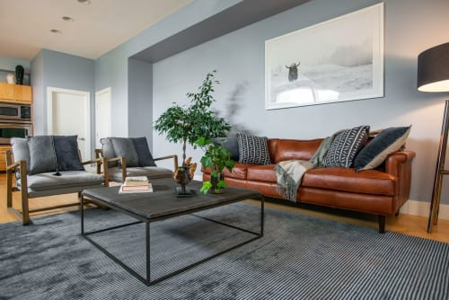 Interior Design by MARGARITA BRAVO seen at Private Residence, Denver - Downtown Townhouse