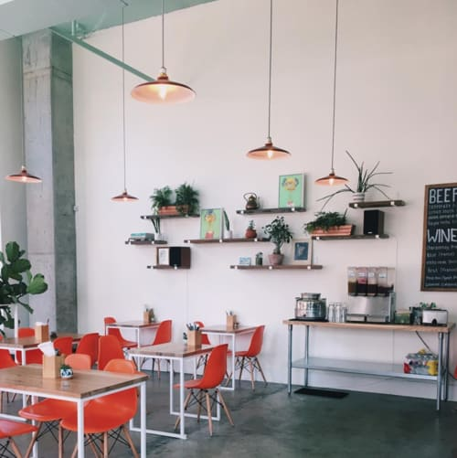 Pendants by MPDESIGNSHOP seen at The Daily Beet, New Orleans - The 14-inch Hudson Lamp