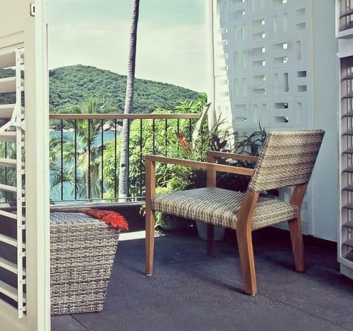 Chairs by Louis Poire (Moda In Casa) seen at Hotel Boca Chica Acapulco, Acapulco de Juárez - Silla Tropicana Lounge