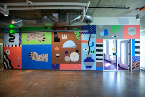 Ryan Bubnis Studio - Murals and Planters & Vases