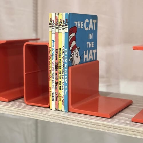 Furniture by Hannah Beatrice Quinn seen at Private Residence, San Francisco - Salmon Book Ends