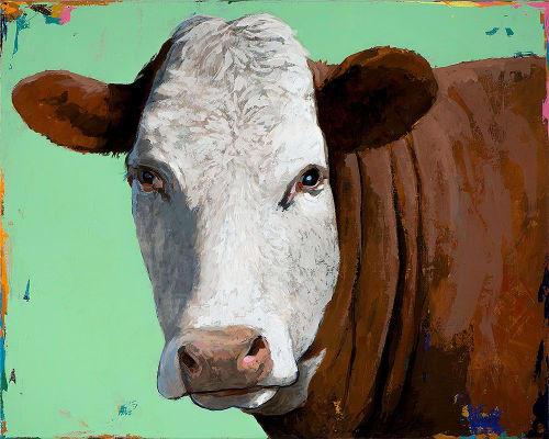 Paintings by David Palmer Studio seen at Pasadena, Pasadena - People Like Cows #14