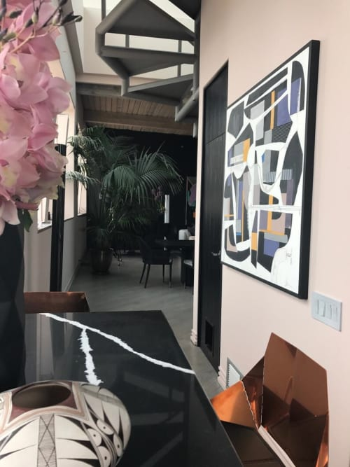 Paintings by Susan Washington Fine Art seen at Private Residence, Chicago - Commissioned work