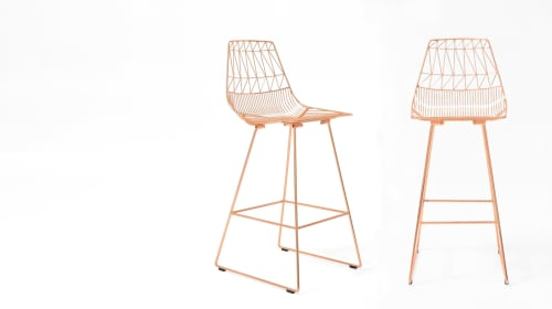 Chairs by Bend Goods seen at Iron Keel, North Vancouver - Lucy Bar Stools