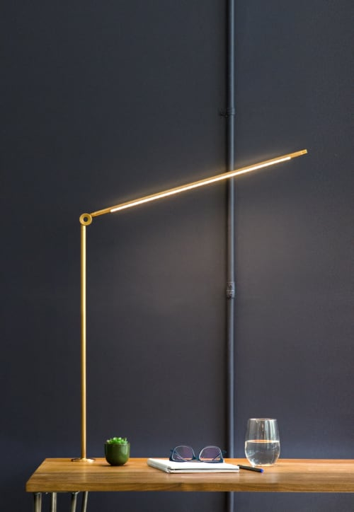 Lighting by Juniper seen at 68 33rd Street, Brooklyn, NY,, Brooklyn - THIN Task Lamp