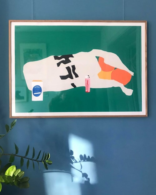 Wall Hangings by We are out of office seen at Private Residence, Amsterdam - Midnight shopping in Asia