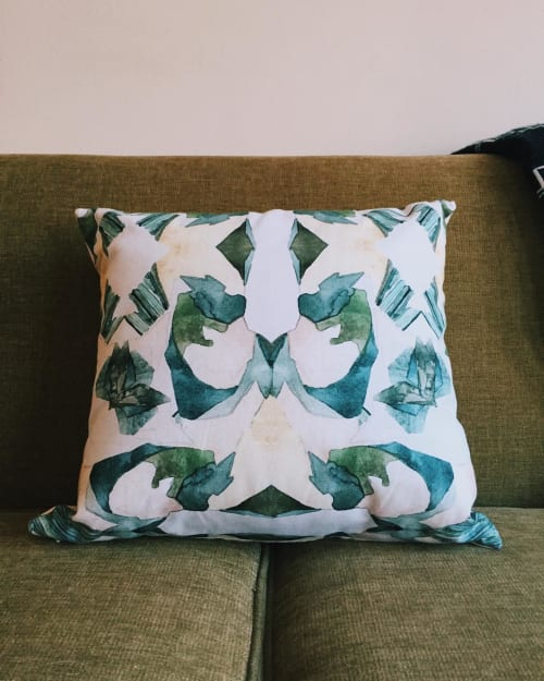 Pillows by Allie Kushnir seen at Private Residence, San Francisco - pillow commission