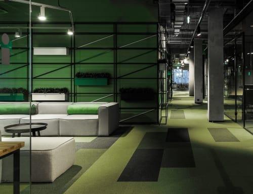 Interior Design by DA bureau seen at Workki Komsomolskaya, Moskva - Workki Komsomolskaya