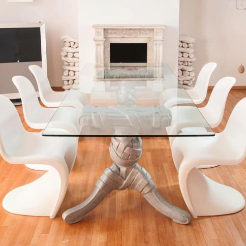 Tables by Stathis Alexopoulos seen at Private Residence, Athens - Custom Dining Table